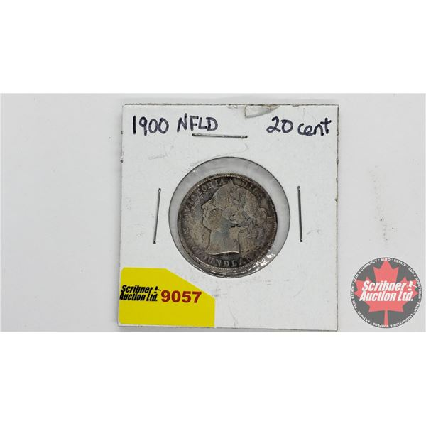 Newfoundland Twenty Cent 1900