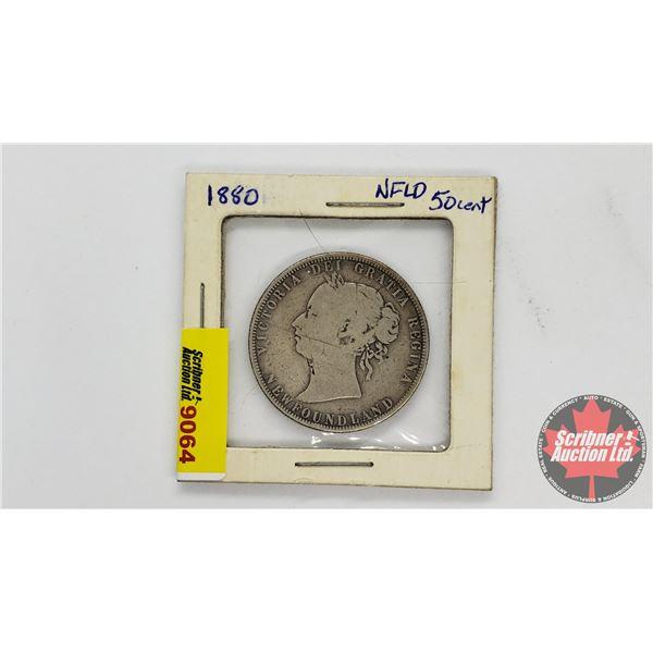 Newfoundland Fifty Cent 1880