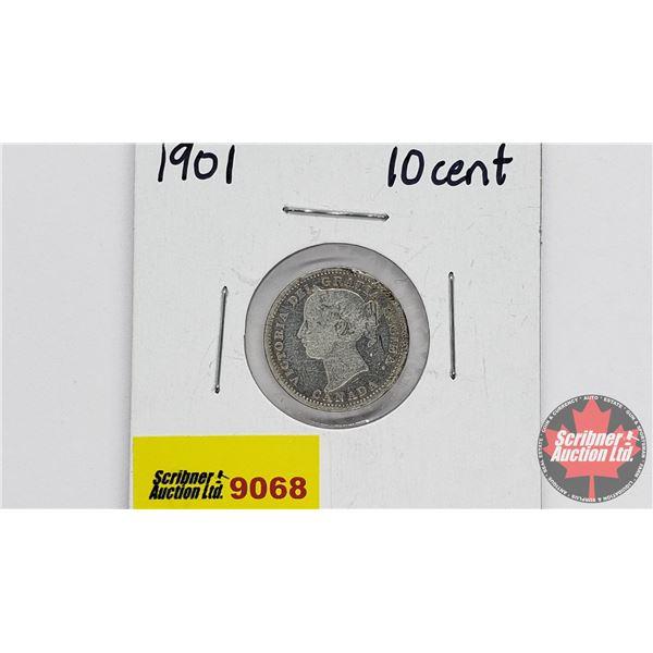 Canada Ten Cent 1901