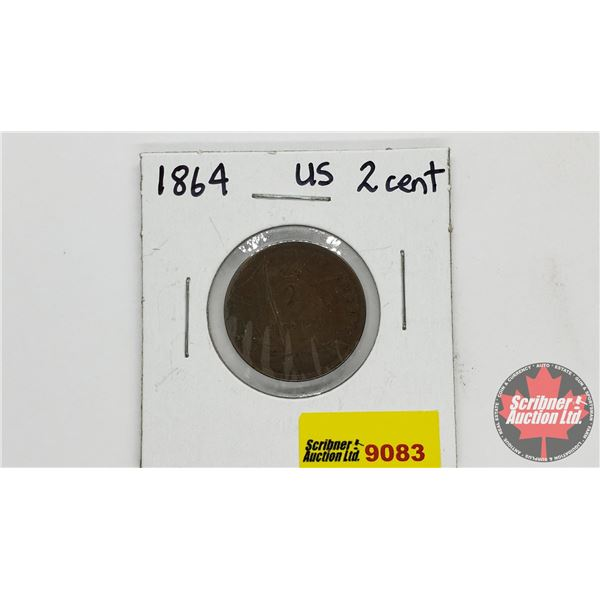 USA Two Cent 1864