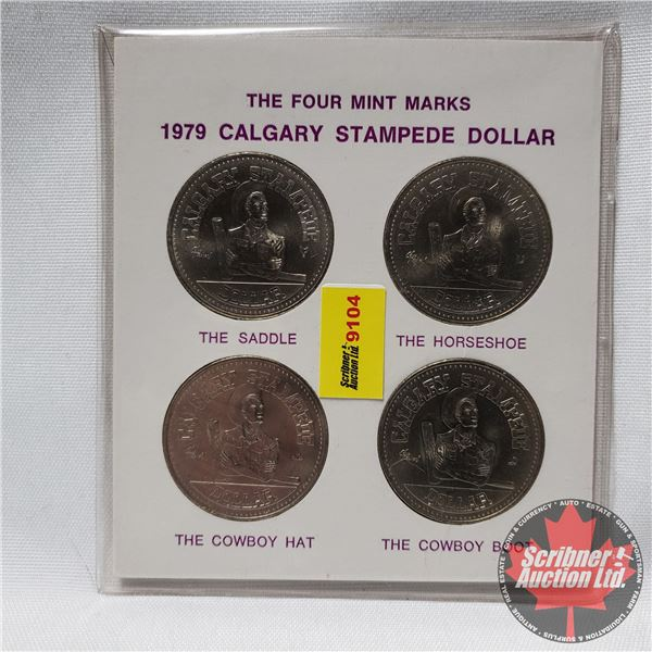 1979 Calgary Stampede Dollar - The Four Mint Marks