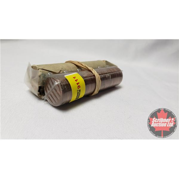 Canada One Cent Rolls (2): 70's & 80's ?? (NOTE: Rolls not opened by the Auction Company, so quantit