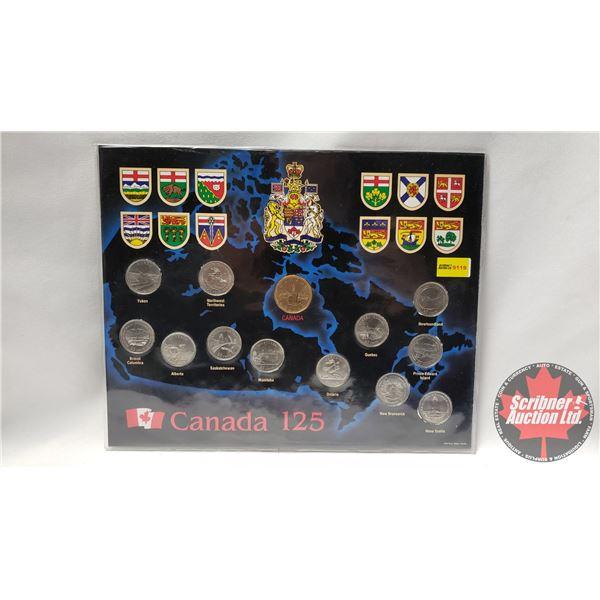 Canada 125 Coin Set