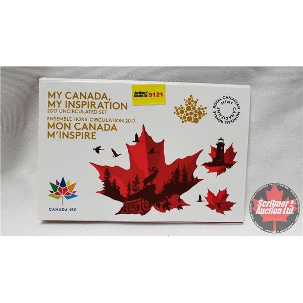 RCM My Canada, My Inspiration 2017 Uncirculated Set