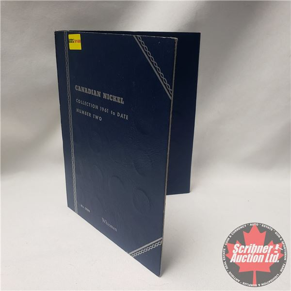 Canada Nickel Collection in Whitman Folder (58 Coins) (1960's - 2000's)