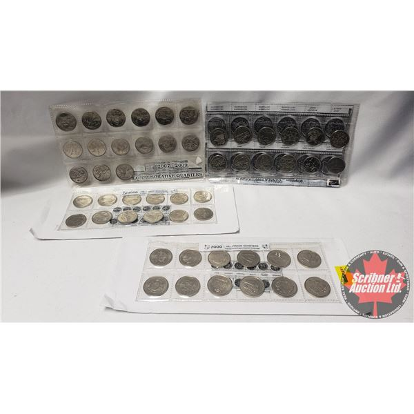 Commemorative Quarter Collections - Variety (