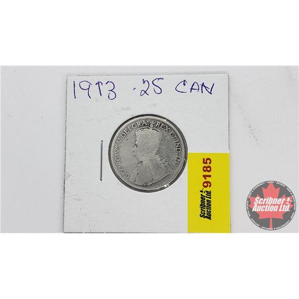 Canada Twenty Five Cent 1913