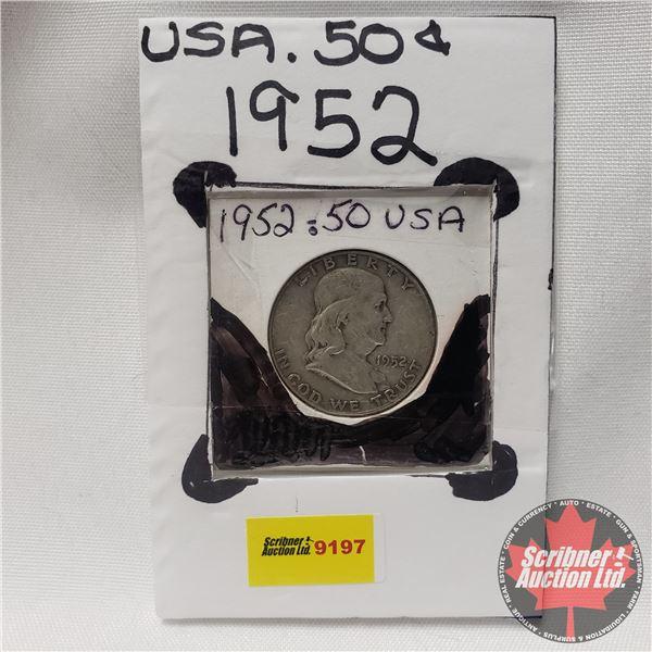 USA Half Dollar 1952