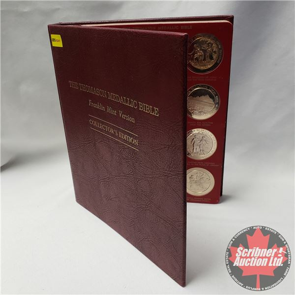 The Thomason Medallic Bible - Franklin Mint Version - Collector's Edition