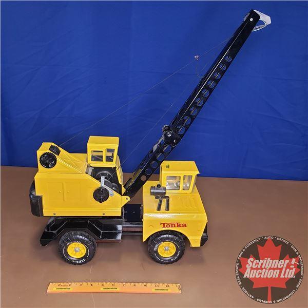 "Tonka Toy : Crane Truck (18""L)"