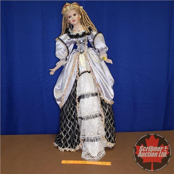 "Porcelain Doll : Victorian (40""H)"