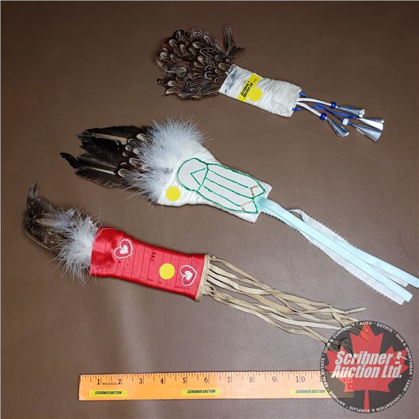 Native Smudging Feather Fan (3)