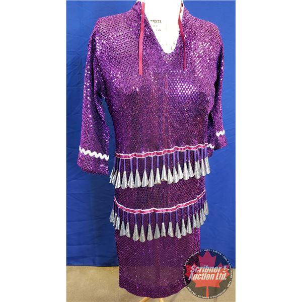 Native Jingle Dress (Dark Purple, Size Small-Medium?)