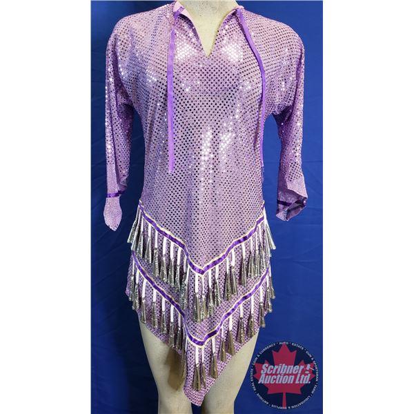 Native Jingle Dress (Light Purple) (Size : Small ? )