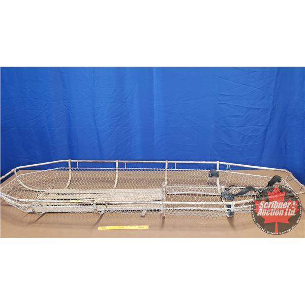 "Rescue/First Aid Stretcher - Wire Basket (81-1/2""H x 24""W)"