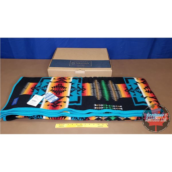 "Pendleton Blanket ""Chief Joseph Collection"" (New in Box) (64"" x 80"")"