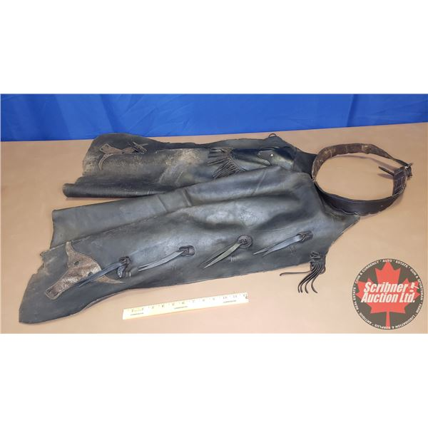 Leather Chaps (Vintage)