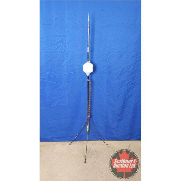 """Lightning Rod w/White Ball (60""""H)"""
