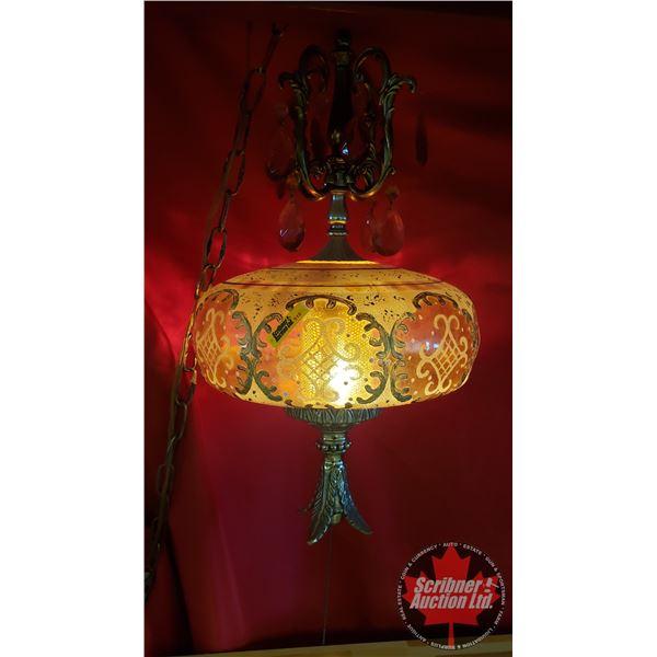 Retro Hanging Swag Lamp