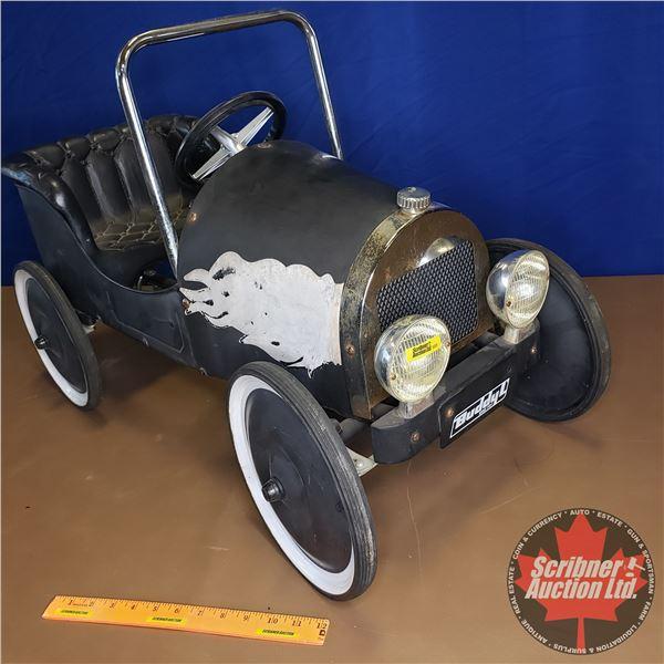 """Buddy L Hot Rod Pedal Car (21""""H x 16""""W x 33""""L)"""