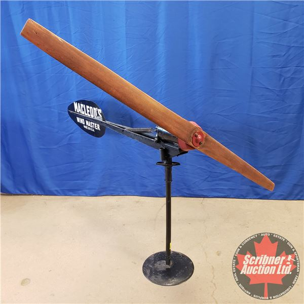 "MacLeod's Windmaster Power Generator - Made in USA (72""H x 63""W)"