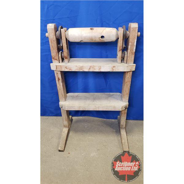 "Primitive Wooden Hide Stretcher (38""H)"