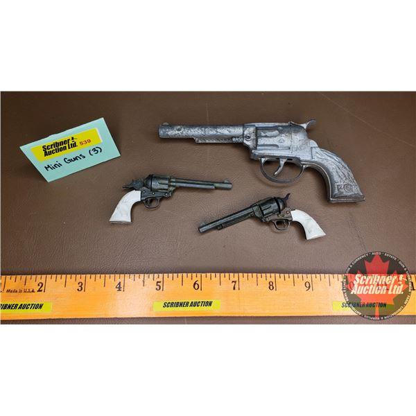 Mini Toy Guns (3)