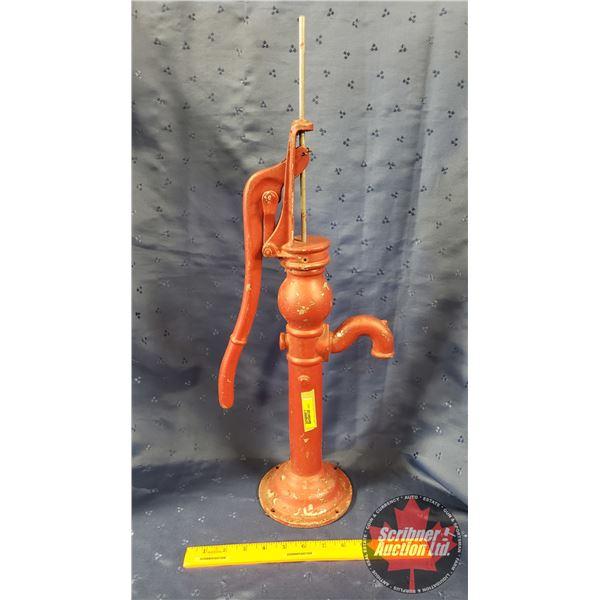 """Red Mini Pump (24""""H)"""