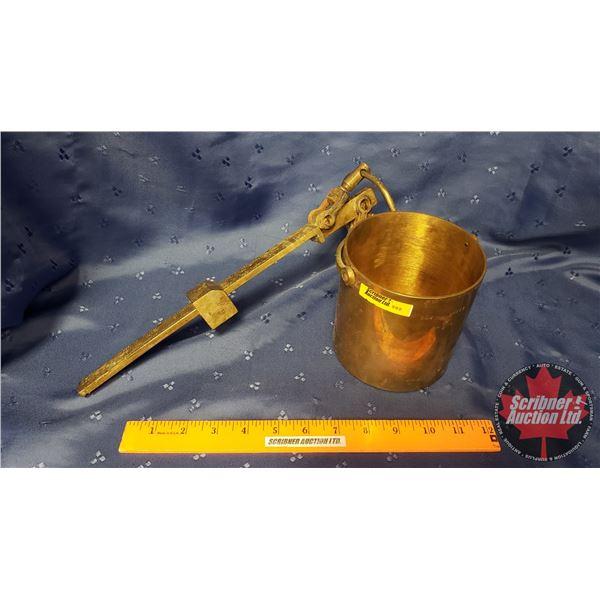 Brass Gurney Hanging Scale