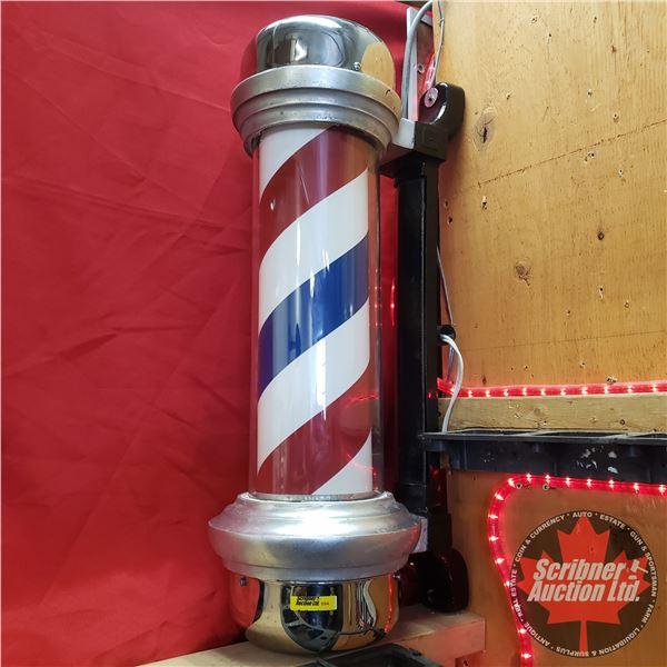 "Marvy Rotating Barber Pole (26"")"