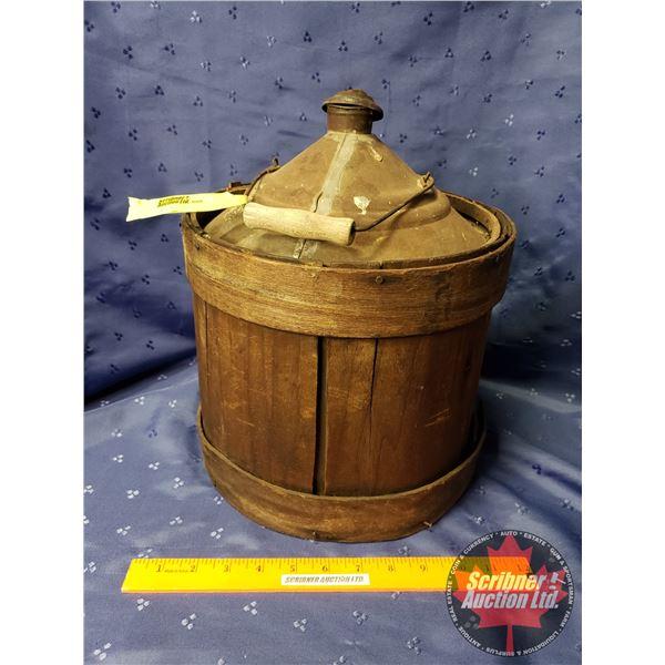 "Flare Pot - Wood Clad 3 Gal (13""H)"