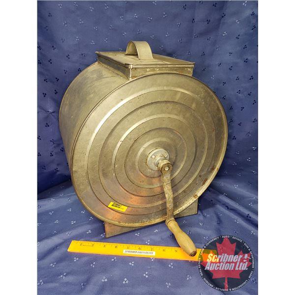 "Metal Butter Churn (14-1/2""H x 14""W)"