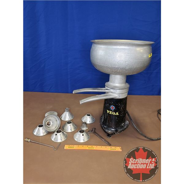 "Vega Counter Top Electric Cream Separator (16""H)"
