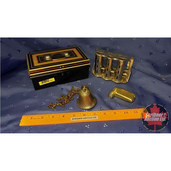 Collector Combo: Changer Sorter, Cash Box (no key), Bell & Lighter