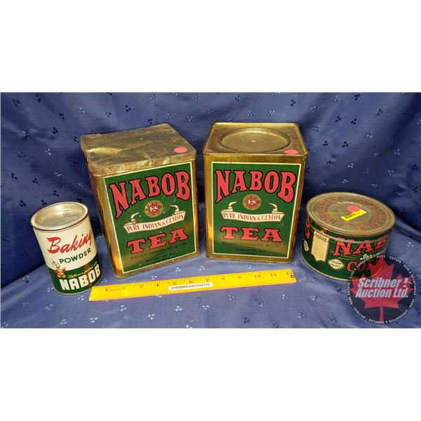 Nabob Tin Collection (4)