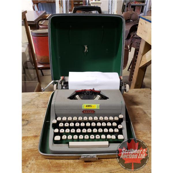 Royal Typewriter w/Carry Case