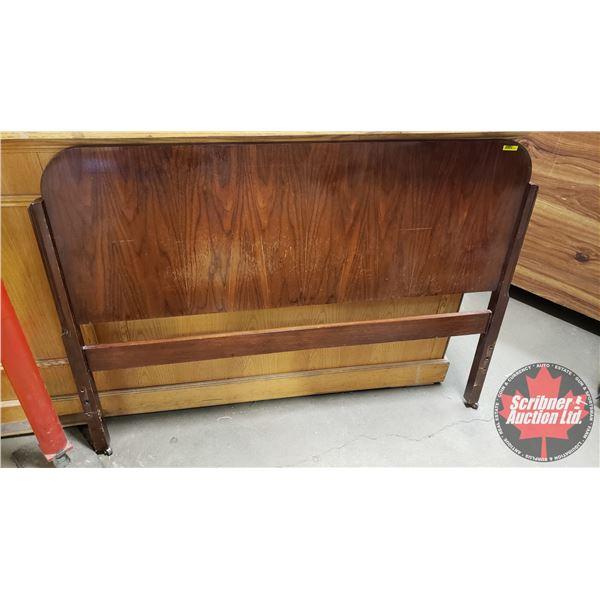"""Wooden Head Board (41""""H x 56""""W)"""