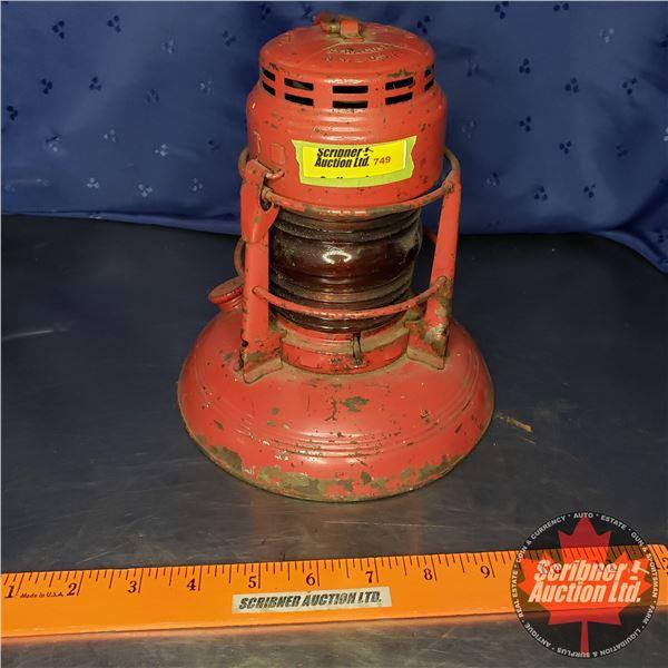 """Dietz Signal Lantern (Broken Globe) (8""""H x 7-1/4"""" Dia)"""