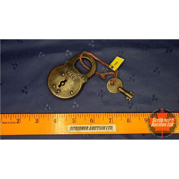 """Yale"" Lock & Key ""The Yale & Towne Mfg. Co."""