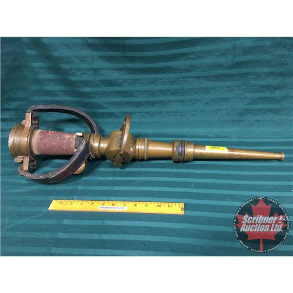 "LaFrance Brass Fire Nosel (28""H)"