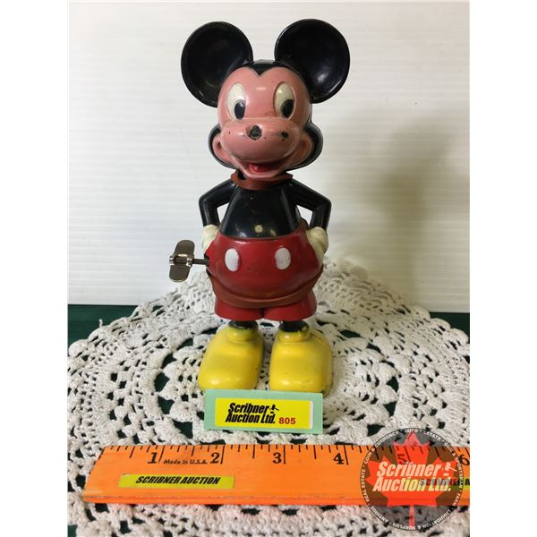 """Marx Windup """"Mickey"""" Mouse (7""""H)"""