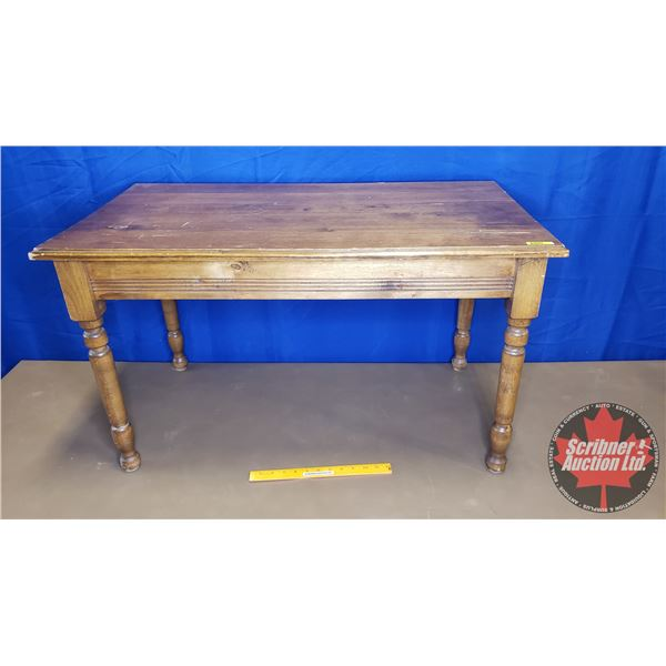 """Wooden Coffee Table (21""""H x 36""""W x 20""""D)"""