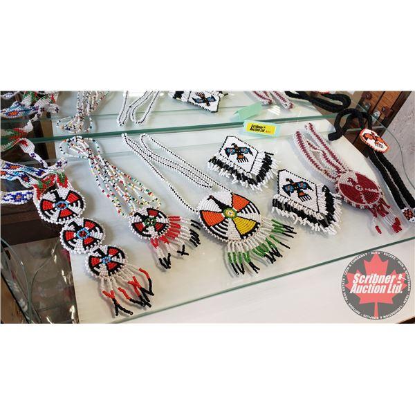 Native Thunderbird Beaded Jewellery (7 pcs) Variety