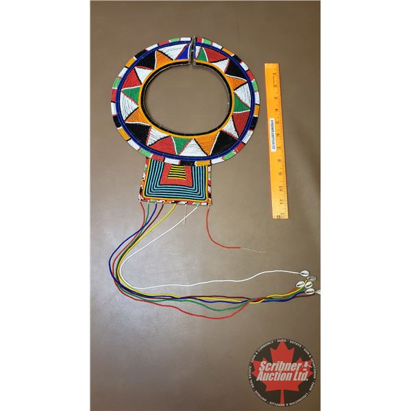 Native Beaded Necklace Choker