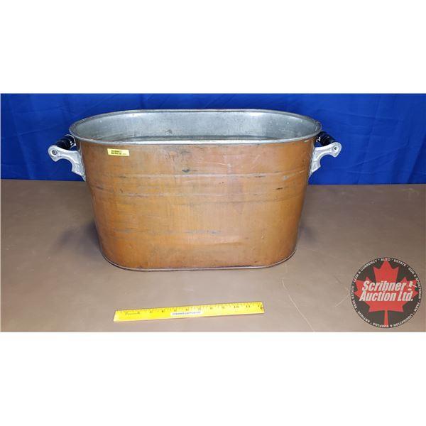 """Copper Boiler (13""""H x 24""""W x 12""""D)"""