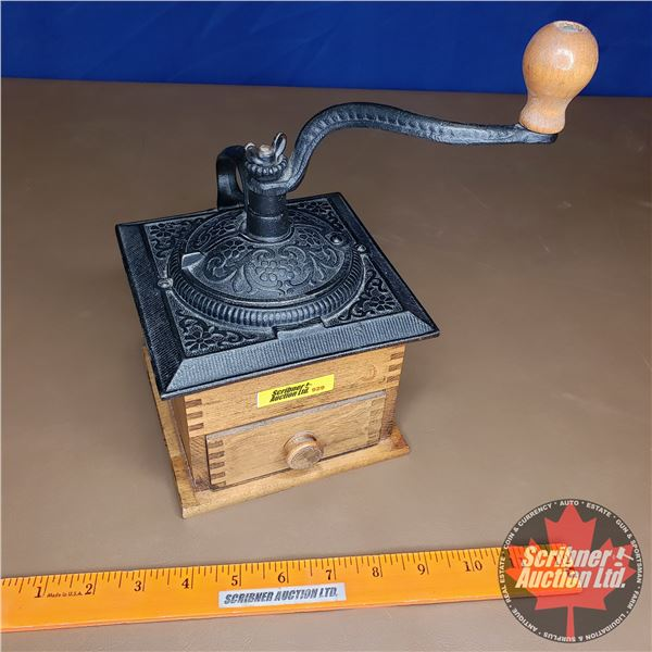 Coffee Grinder - Table Top - Cast Iron Top