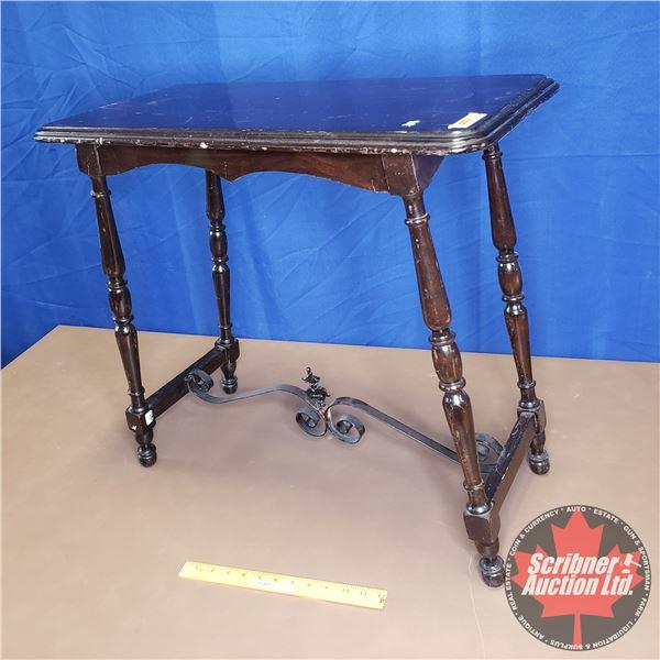 "Trestle Base Sofa Table (24""H x 25""W x 12""D)"