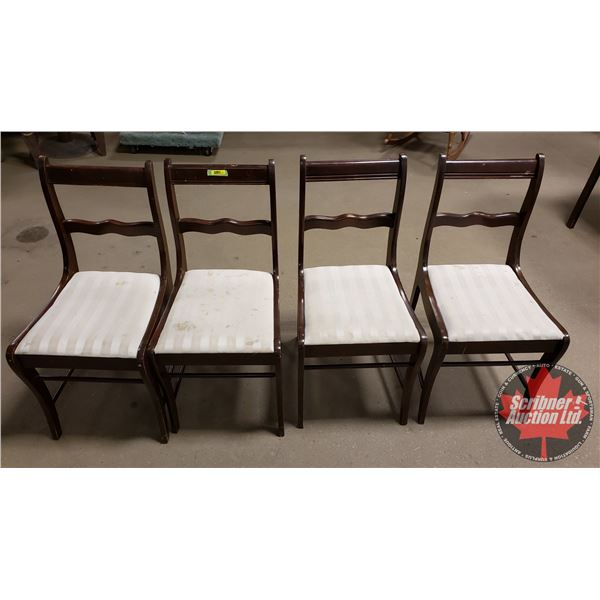 """Dining Chairs (4) (33-1/2""""H)"""