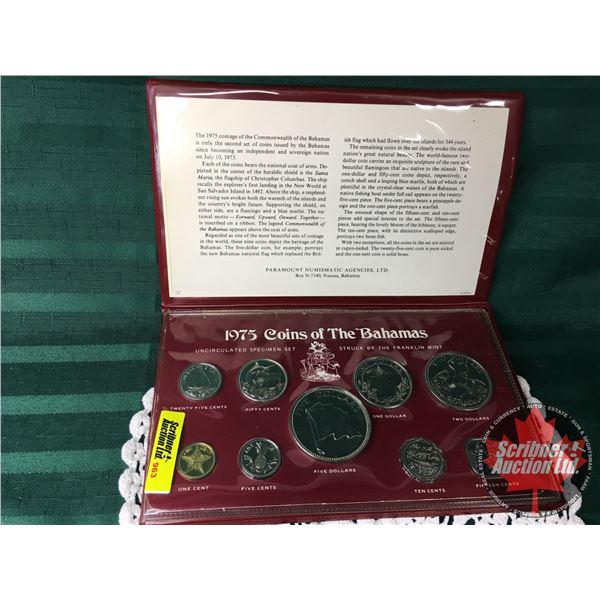 1975 Bahamas Coin Set