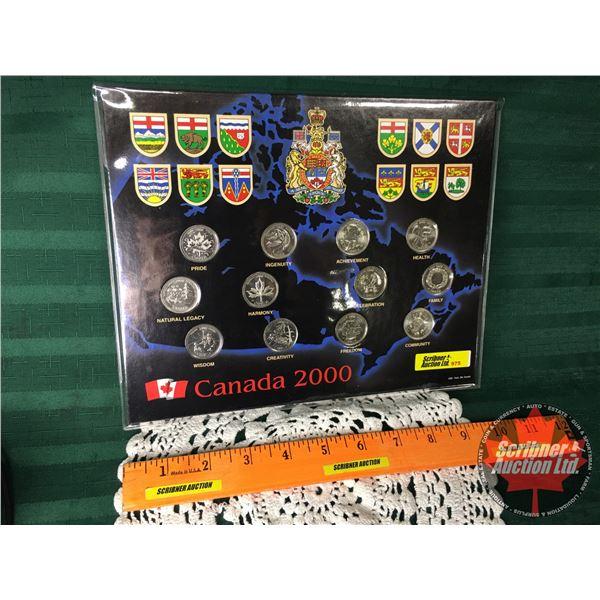 Canada 2000 Quarter Set